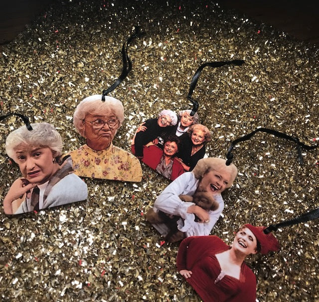 Choose Your Own Golden Girls Ornaments - Set 2