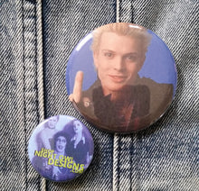 Billy Idol pin back button