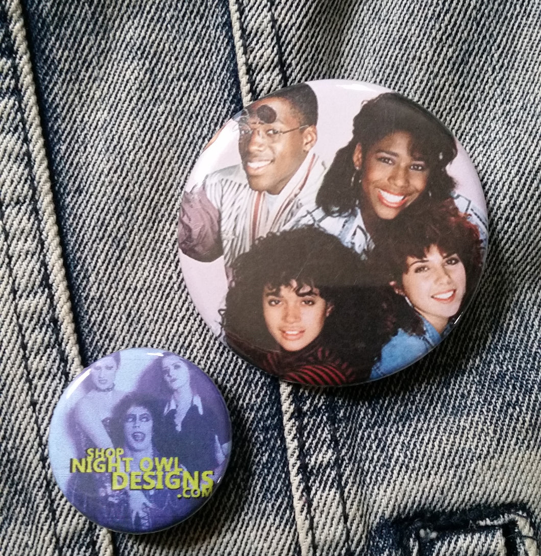 A Different World cast pin back button