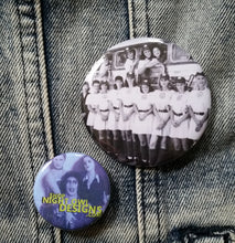 League of Their Own pin back button