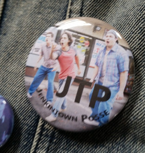 JTP - The Goldbergs pin back button