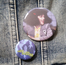 Gilda Radner pin back button