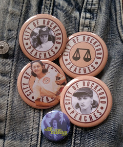 A League of Their Own pin back button
