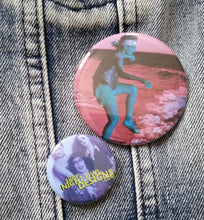 Karate Kid pin back buttons