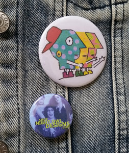 PBS pin back button