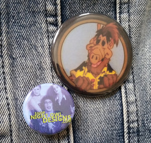 Alf pin back button