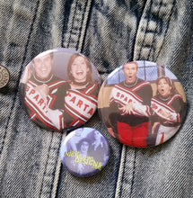Spartans Cheerleaders pin back button
