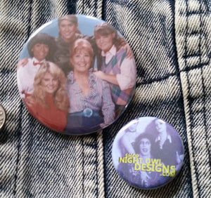 Facts of Life Cast pin back button