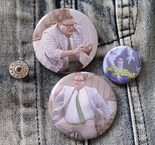 Matt Foley pin back button