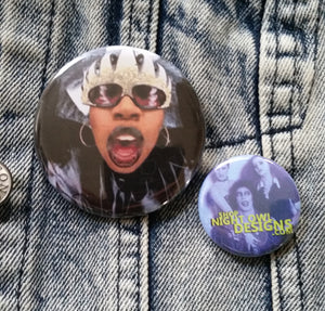 Missy Elliott pin back button