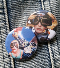Tank Girl pin back button