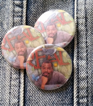 "Levar Burton ""Read"" Poster pin back button"