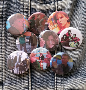 Breakfast Club pin back button