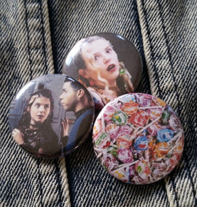 Rayanne and Ricki - My So Called Life pin back button