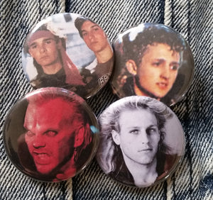Lost Boys pin back button