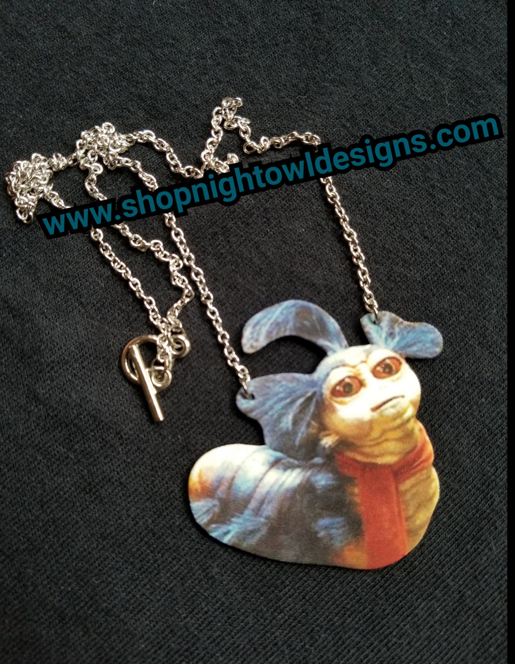 Labyrinth Worm Necklace