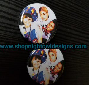 TLC pin back button