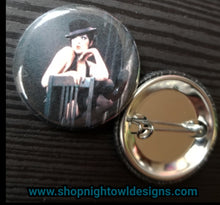 Sally Bowles pin back button