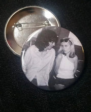 Joey and Debbie pin back button