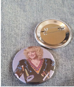 Beverly Goldberg- smother pin back button