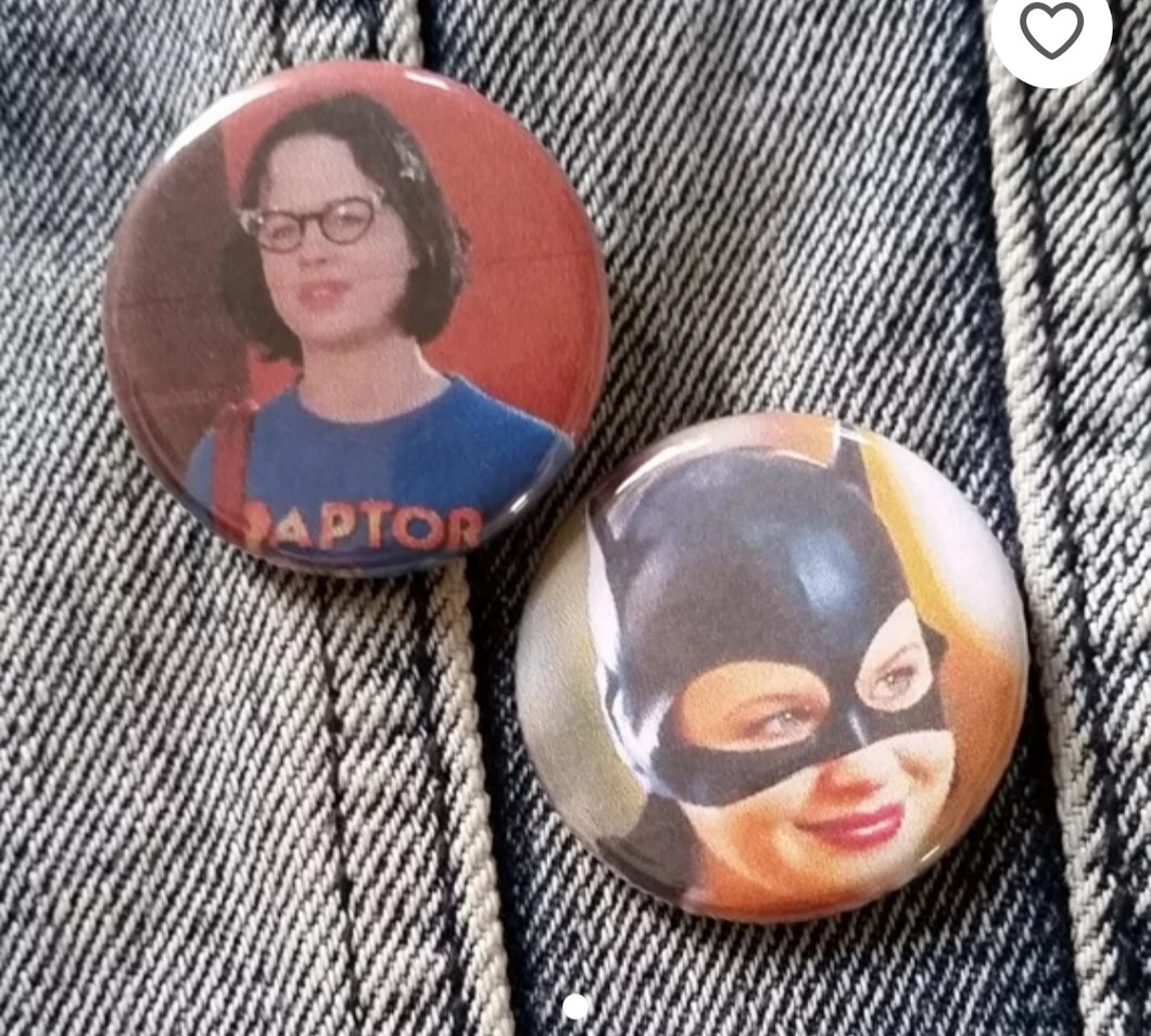 Ghost World  pin back buttons