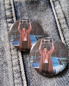 Say Anything pin back button