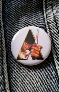 Clockwork Orange pin back button