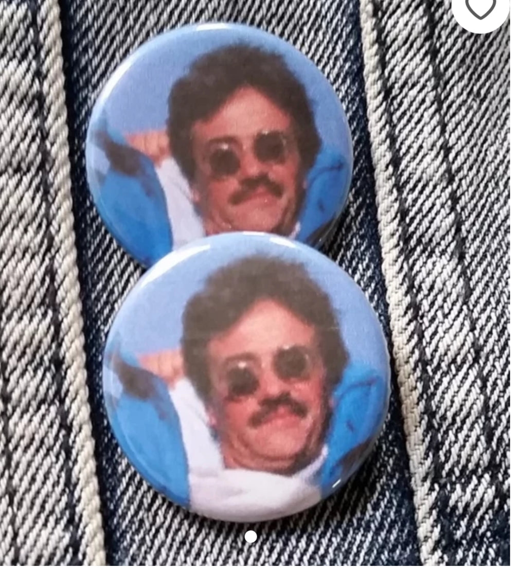 Weekend at Bernie's Pin Back Button