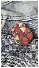 He Man pin back button