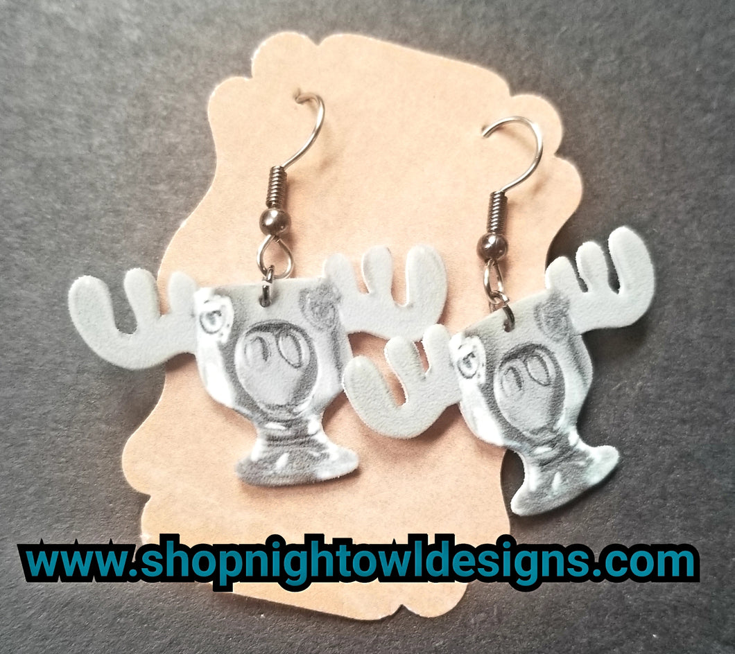 Moose Mug- Christmas Vacation Earrings