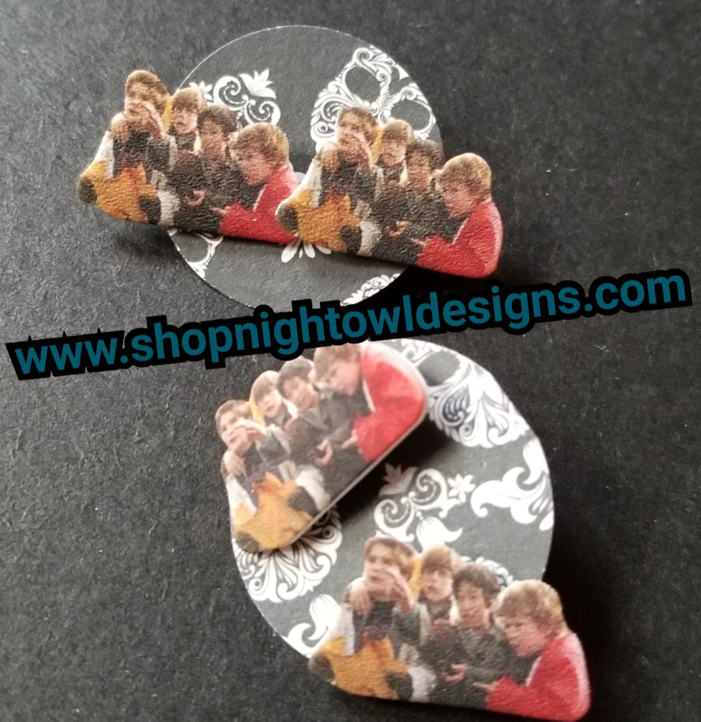 Goonies post Earrings