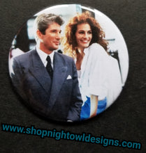 Pretty Woman pin back button