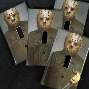 Jason Voorhees Light Switch Plate
