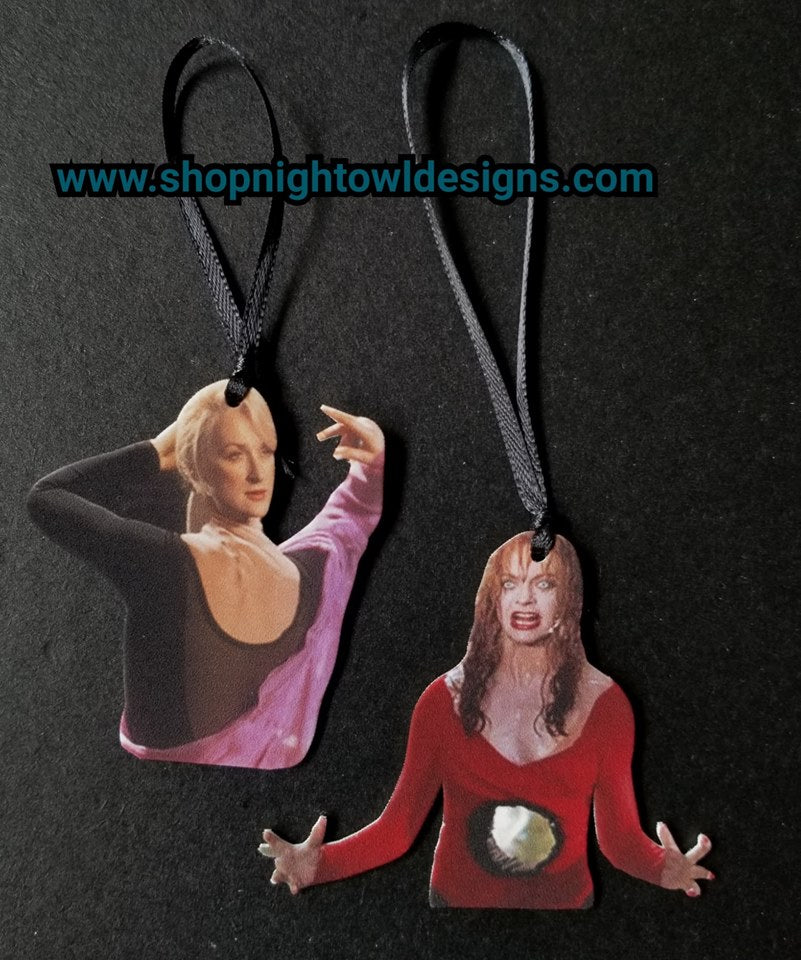Death Becomes Her Ornaments