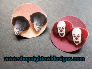 Pennywise Post Earrings