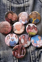Golden Girls cast pin back button