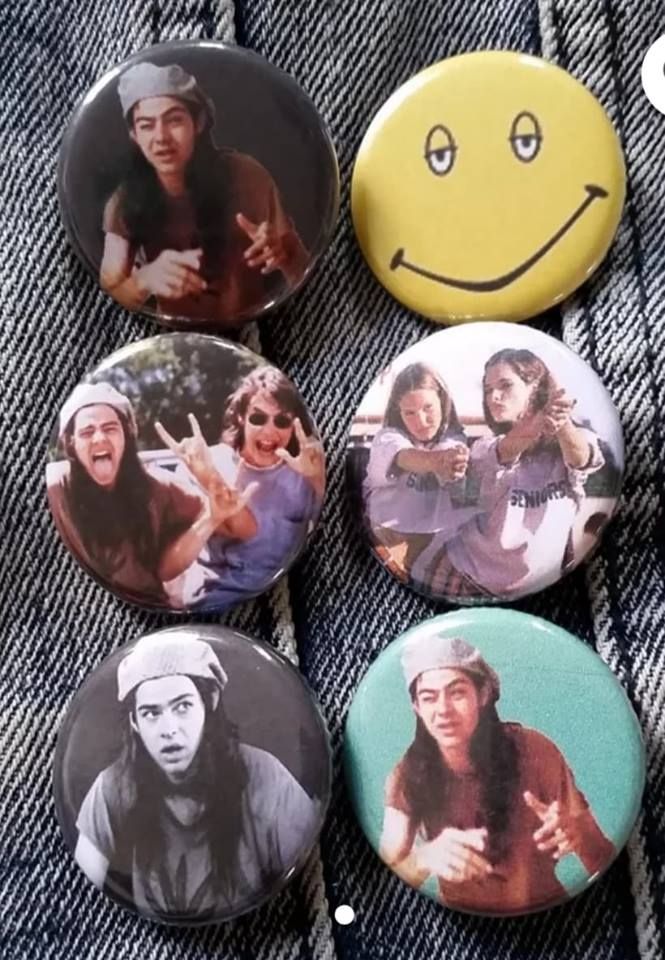 Dazed and Confused pin back button