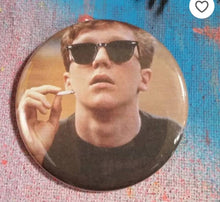 Brian - The Breakfast Club pin back button