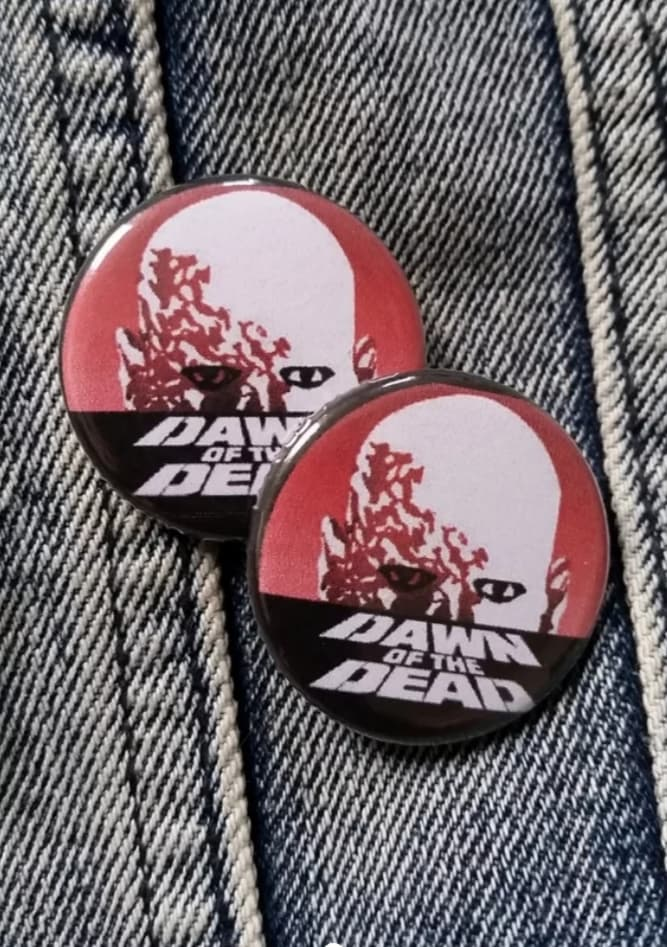 Dawn of the Dead pin back button