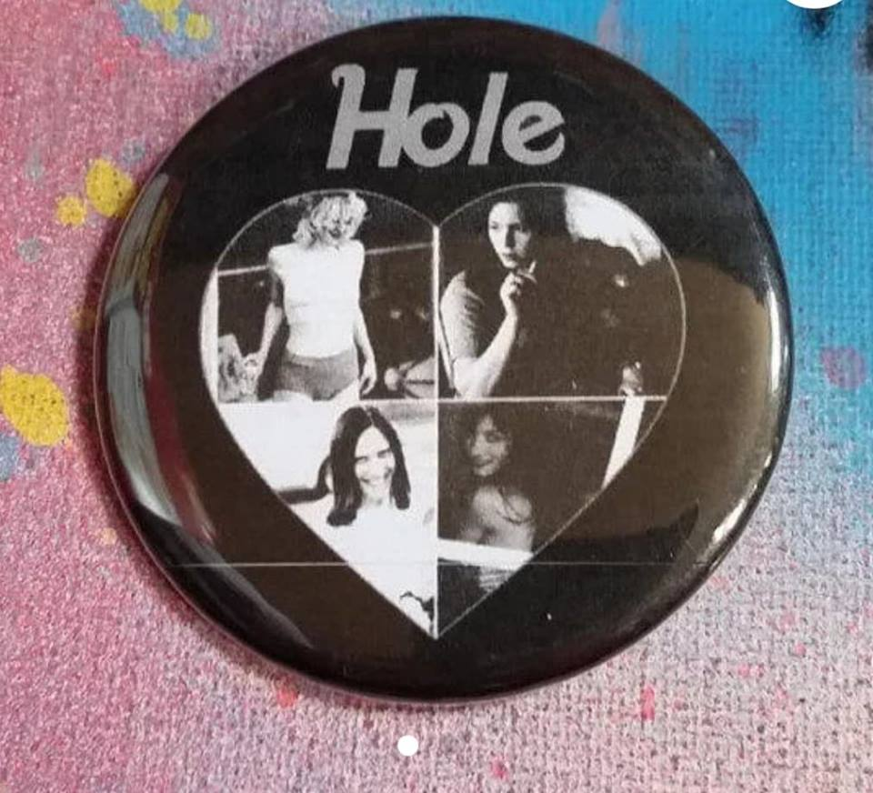 Hole pin back button