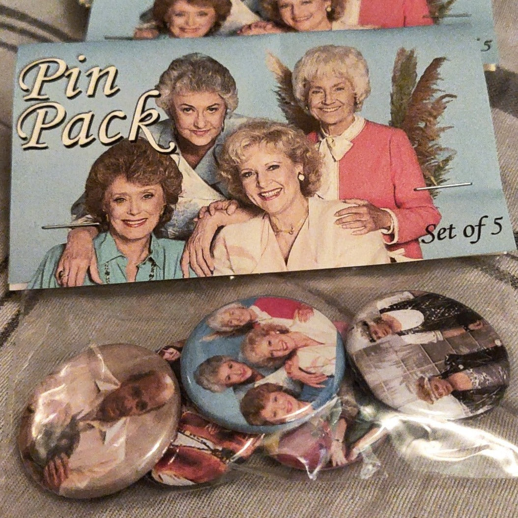 Golden Girls pin pack