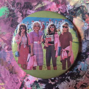 Grease 2 pin back button