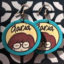 Daria Logo Earrings