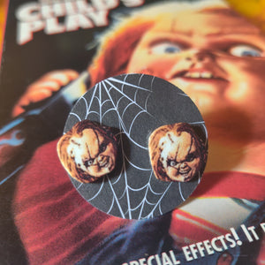 Chucky (Child's Play) Post Earrings