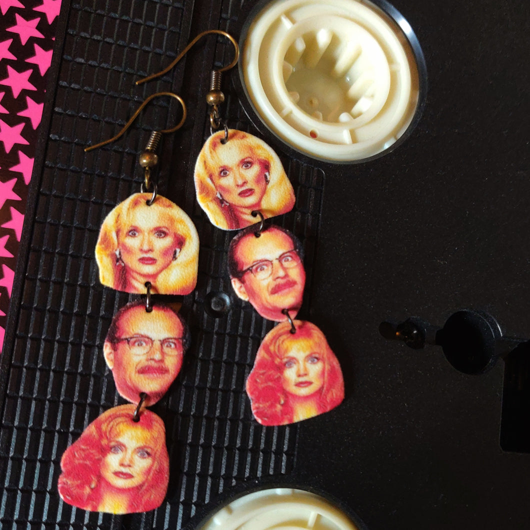 Death Becomes Her Stackable Earrings