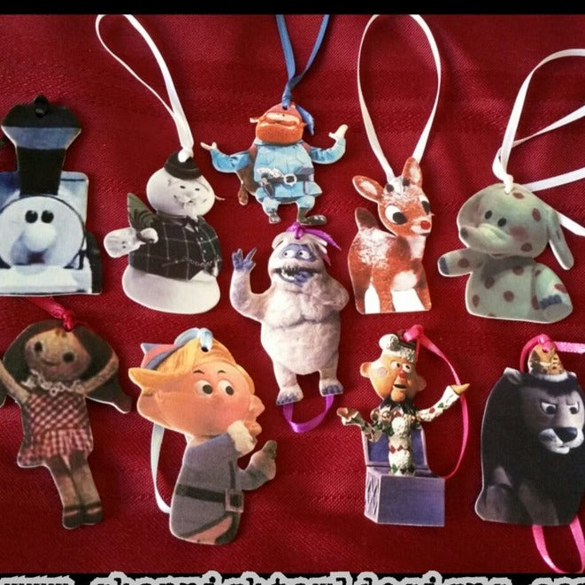 Choose Your Own Rudolph Ornament