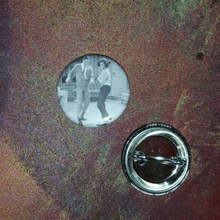 Dick Van Dyke and Mary Tyler Moore pin back button