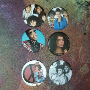 A Different World pin back button