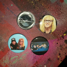 Wayne's World pin back button
