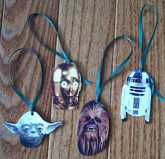 Choose Your Own Star Wars Ornaments